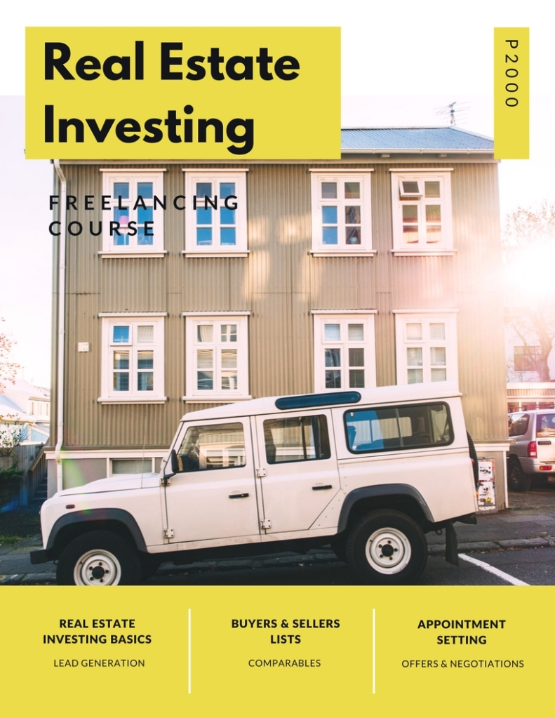 Real Estate Investing Tasks Course